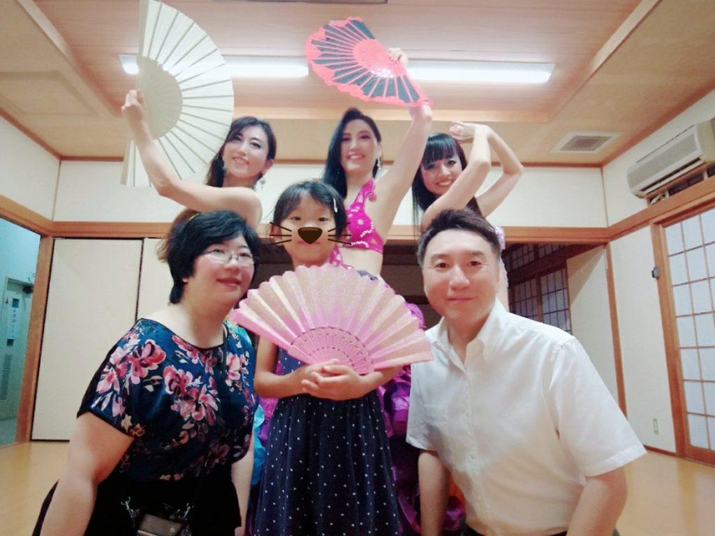 7/21 大分市夏祭り 大江戸ジュリさんと