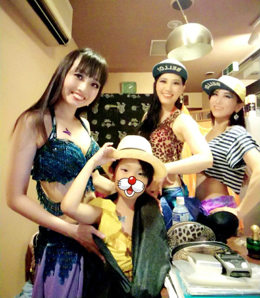 7/23 オスアシリ Annのお誕生日会 控え室
