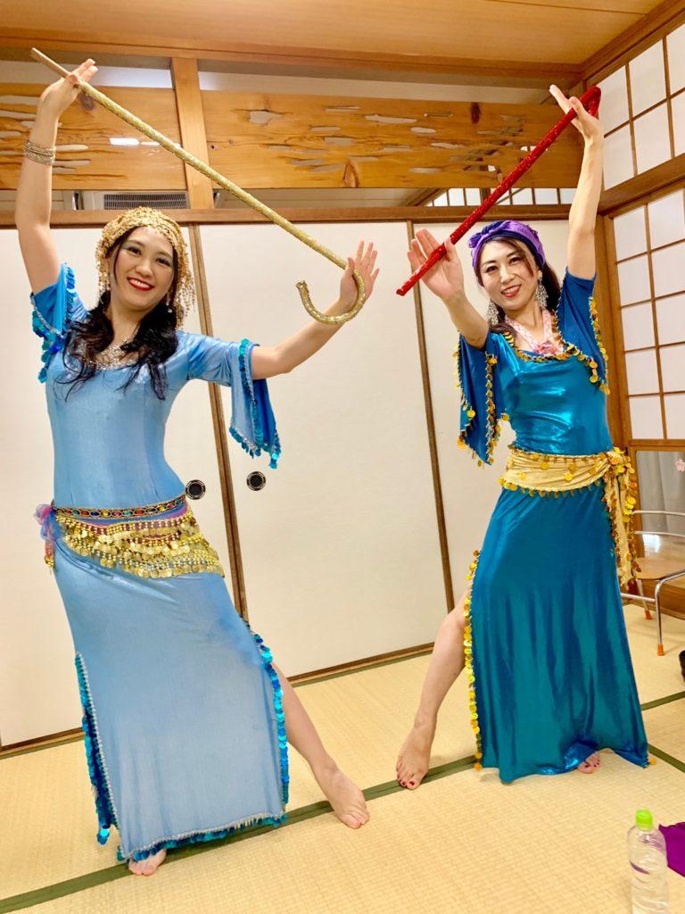 9/8敬老祝賀会 サィーディーの衣装