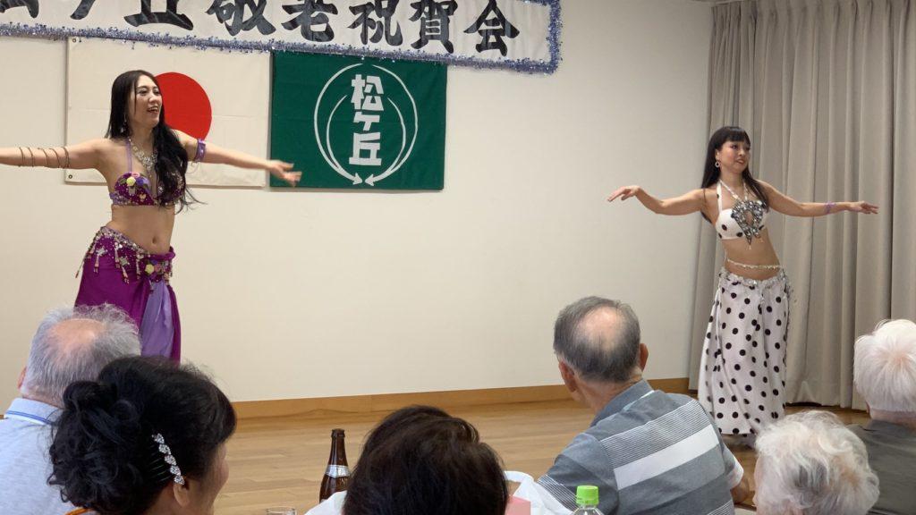 9/8敬老祝賀会 デュオ
