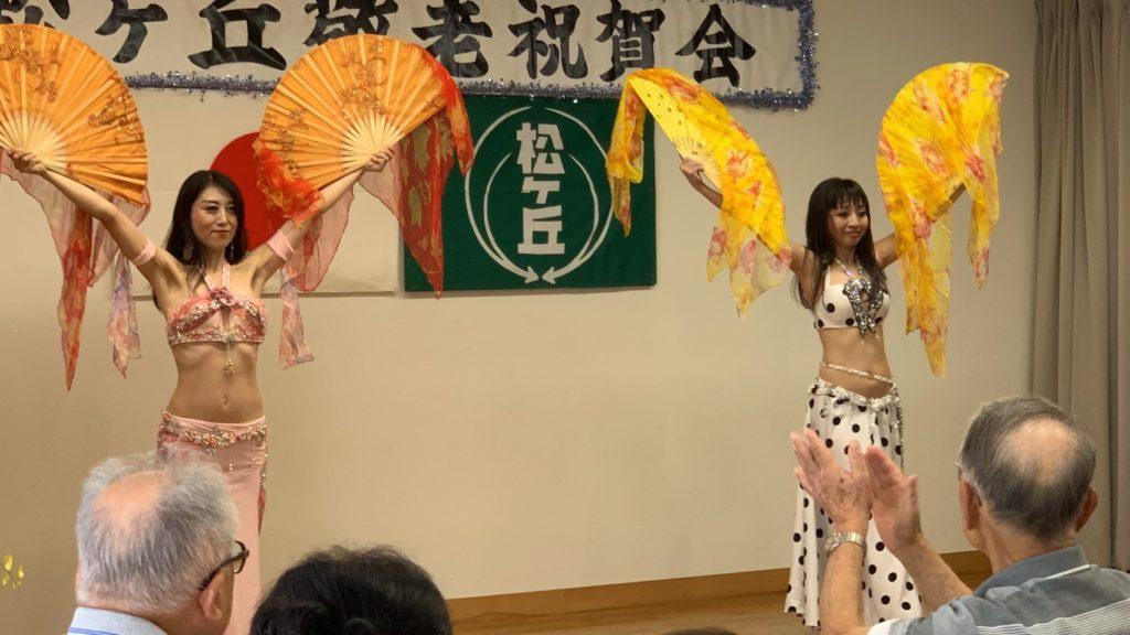 9/8敬老祝賀会 カメリアファンベール